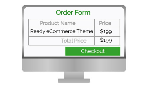 Ready ecommerce theme design