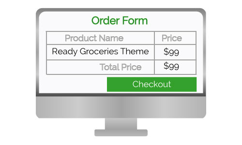 Ready Groceries Theme Design